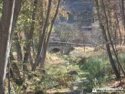 Parque Natural del Barranco Río Dulce;senderos cordoba tienda senderismo